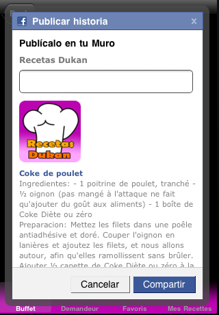 Copie d'écran 5 de l'application