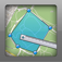 Geo Measure – Map Area / Distance Measurement Icon