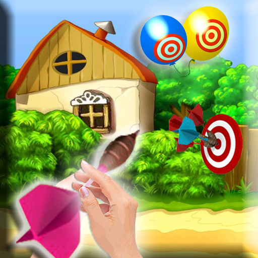 Balloon Darts Deluxe – Fingers Aiming Target Practice Game For Kids HD