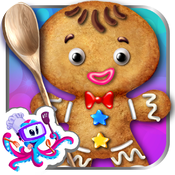 Gingerbread Crazy Chef - Cookie Maker icon