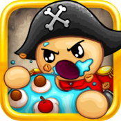 Pirate Smash: destroy pirates in your pocket with one punch during break time! icon