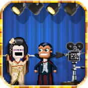 Pixely People Making Movies icon