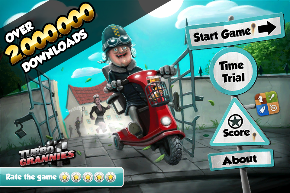 Free Turbo Grannies iPhone Game
