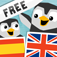 LinguPingu FREE - English Spanish / Espaol Ingls - children learn languages