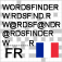 WordsFinder for crossword, puzzle, Wordfeud / French