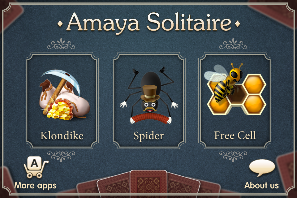 Amaya Solitaire (Spider, Klondike, Free Cell) screenshot 2