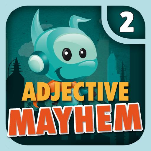 Adjective Mayhem HD - Level 2