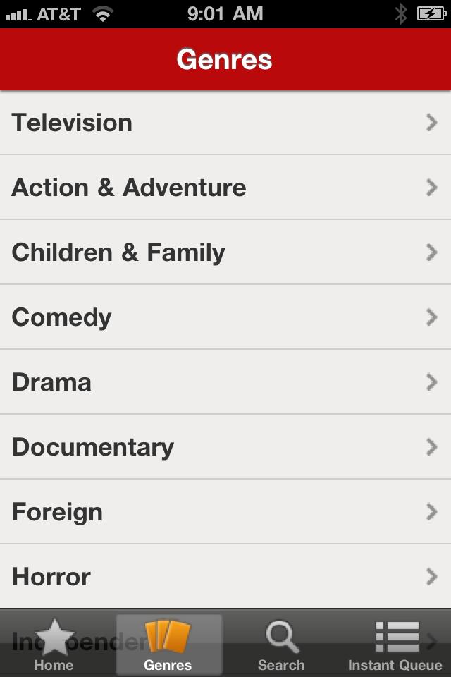 Netflix free app screenshot 1