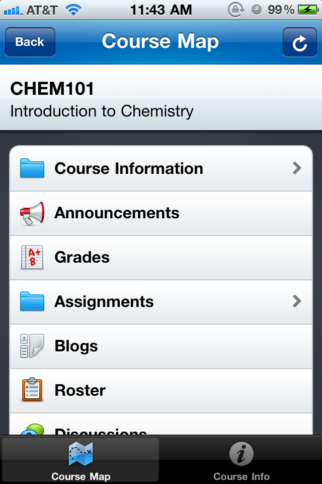 Blackboard Mobile™ Learn for iPhone