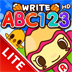 ABC 123 Writing Practice HD Lite - Trace Alphabet Letter and Number Shapes