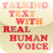 Talking Text with Real Human Voice icon