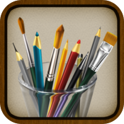 MyBrushes for iPhone - Painting, Drawing, Scribble, Sketch, Doodle with 100 brushes icon