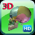 3D Human Skeleton Skull HD