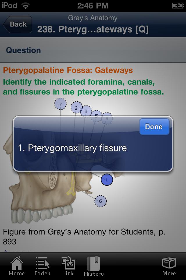App Shopper: Gray\'s Anatomy (Students Flash Cards) (Medical)