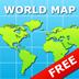 World Map for iPad FREE