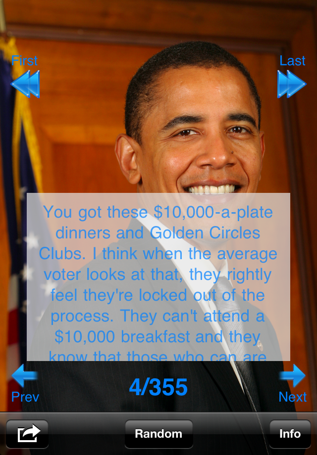 More apps related Obama Famous Quotes