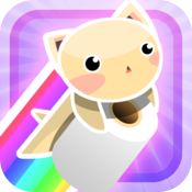 Rainbow Tissue Cat icon