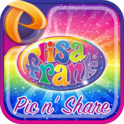 Lisa Frank Pic n' Share icon