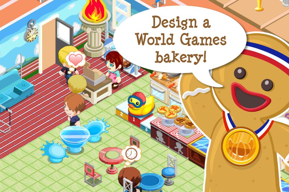 Bakery Story: World Games screenshot 3