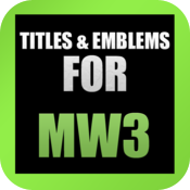 Titles & Emblems Tracker for MW3 icon