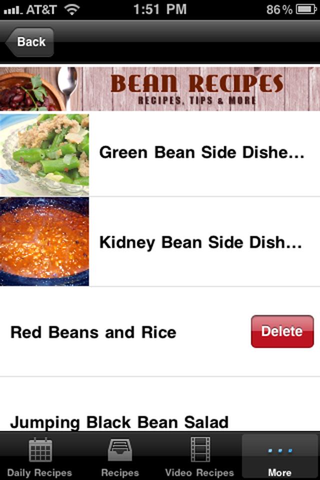 Bean Recipes!