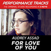 For Love of You (Performance Tracks) - EP, Audrey Assad