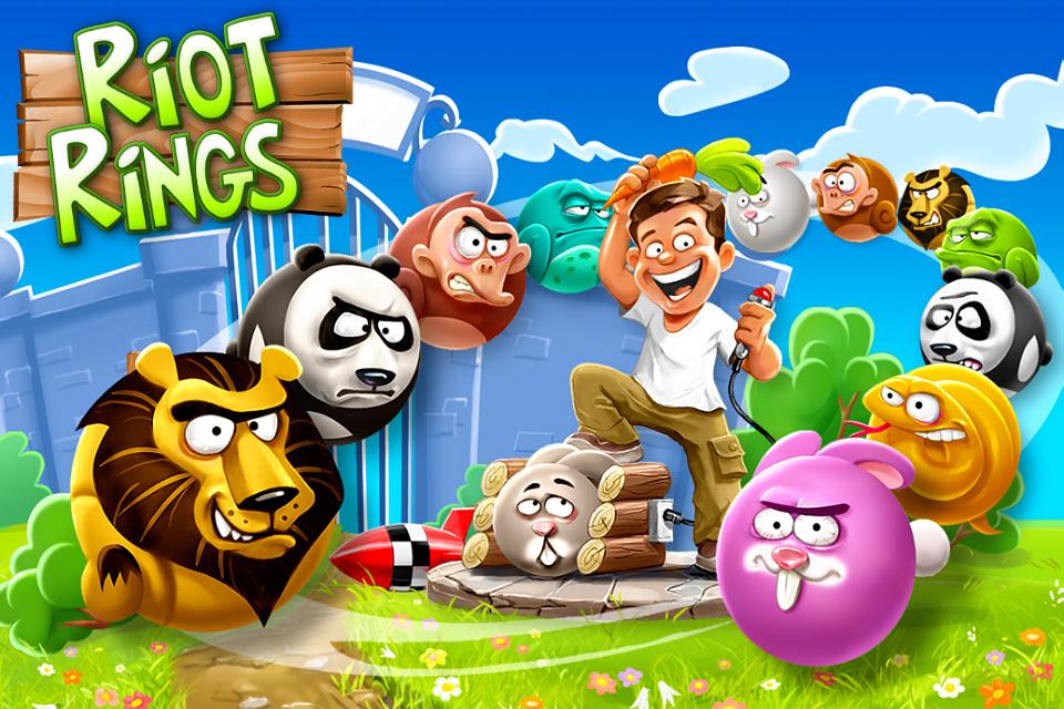 Riot Rings™ screenshot 1