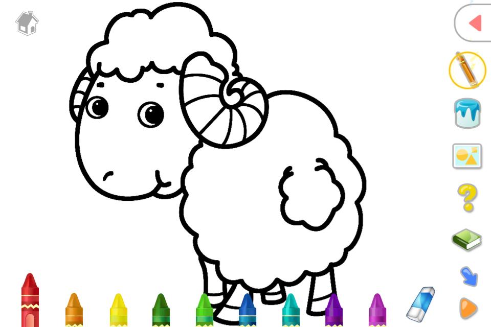 ★选取可爱的动物卡通图片
