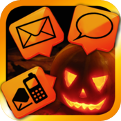 Halloween Alert Tones - Customize your new voicemail/email/sms/+more alerts icon
