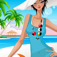 Beach Fashion: Dress up and makeup game