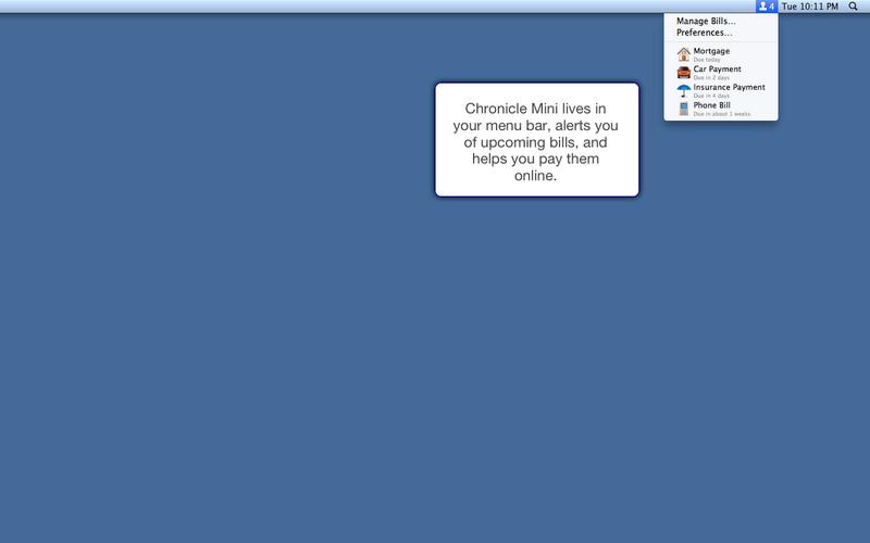 Chronicle Mini Screenshot - 1