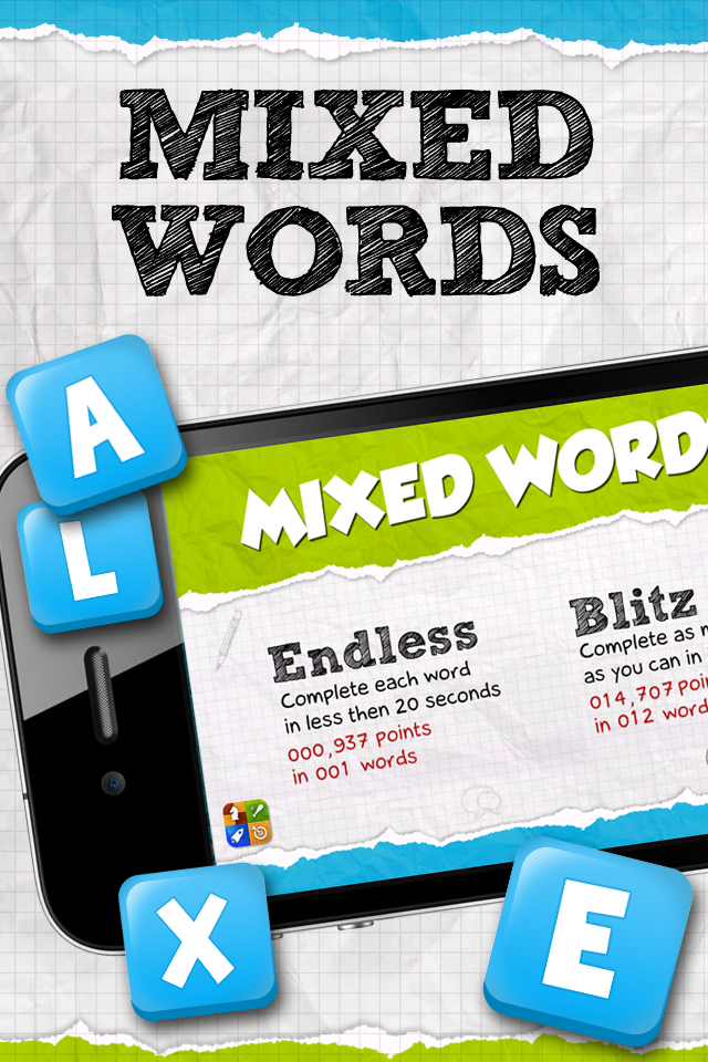 Free Mixed Words iPhone Game
