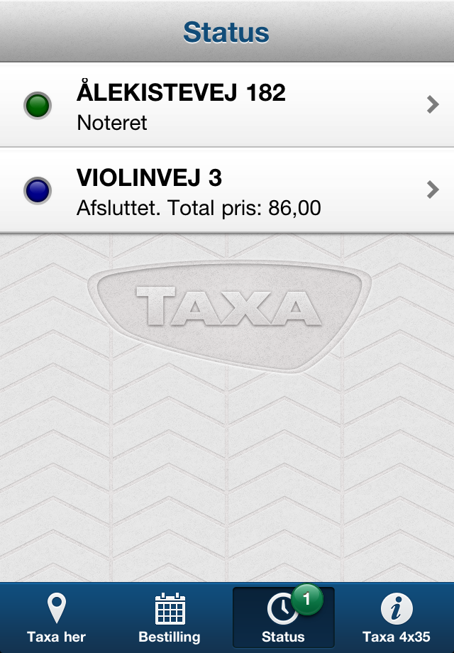 Taxa 4×35 Screenshot