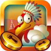 Coin Thanksgiving GOLD icon
