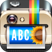 Overgram  add text captions to photos and pictures for Instagram icon