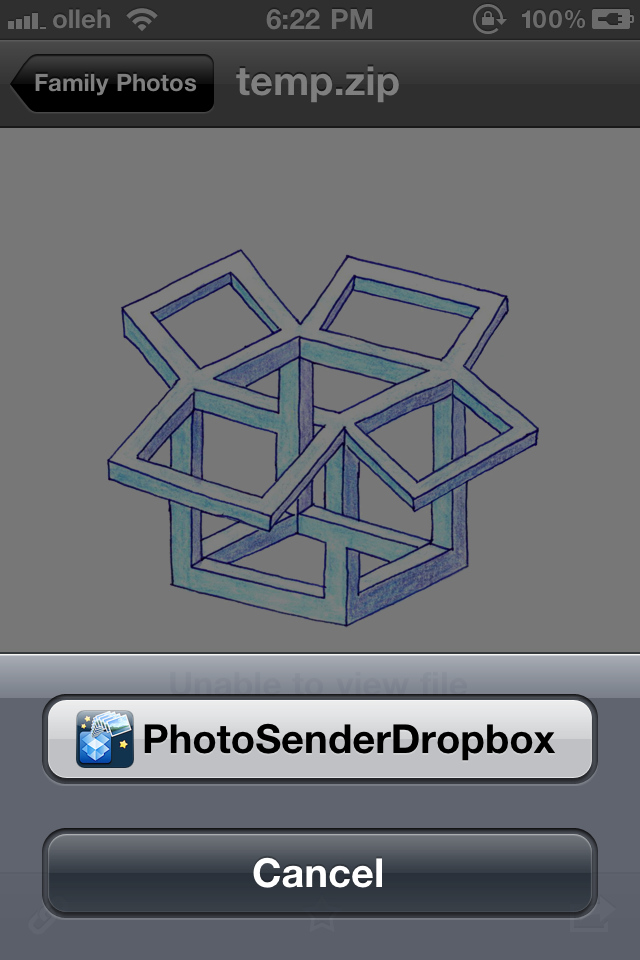 Dropbox Photo Sender – Share Multi Photos and Videos on Dropbox Screenshot