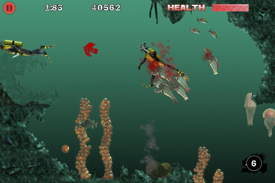 Piranha 3DD - Touch Arcade