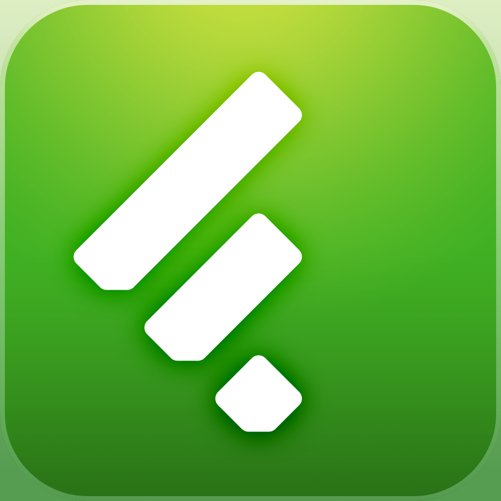 Logo for Feedly App for iOS