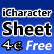 iCharacter Sheet 4e - Free