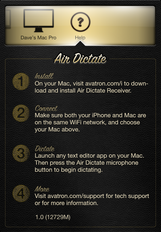 Air Dictate screenshot 2