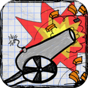 Doodle Cannon PRO - Fun Physics Game For Kids icon