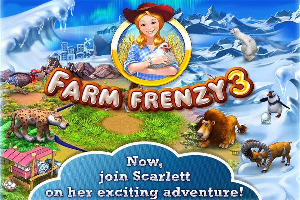 Save файлы к игре Farm Frenzy 3: Ice Age - чит коды, nocd, nodvd, трейнер, crac