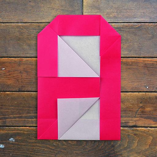 アルファベット折り紙 for iPhone