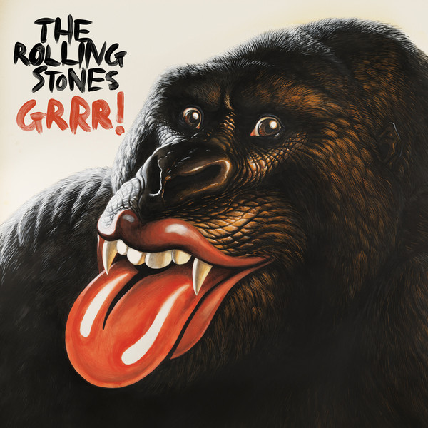 GRRR! Album Cover by The Rolling Stones