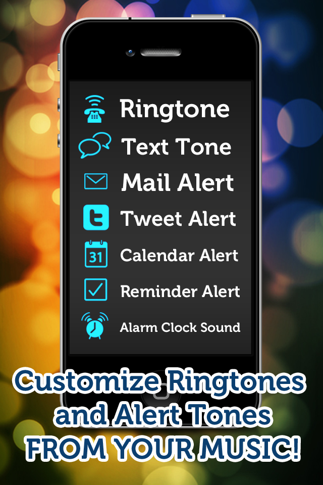 Ringtone Maker - Make free ringtones from your music