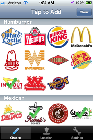 new app fast food locator apple iphone forum