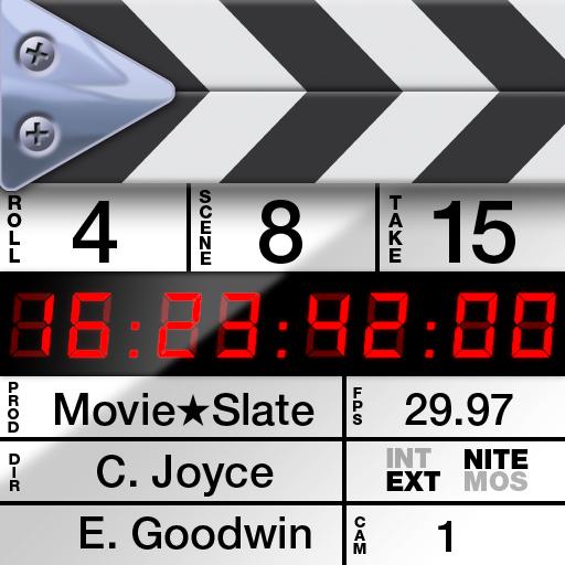 Movie★Slate (Clapperboard & Shot Log)