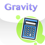 Gravity Mass and Pressure Calculator icon