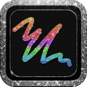 Glitter Doodle Color Blast HD icon