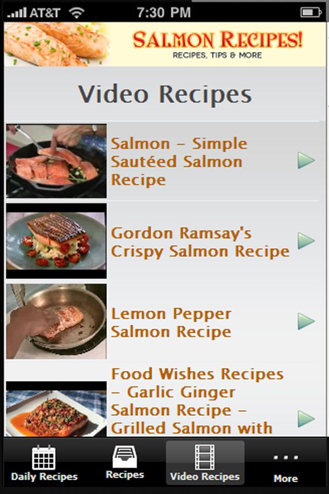 Salmon Recipes!!